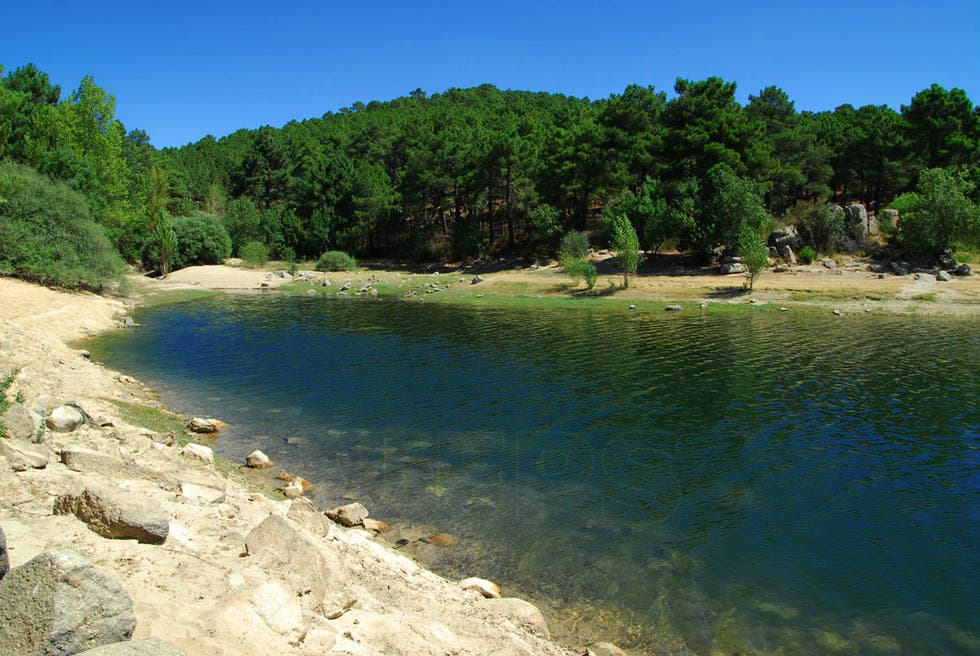 Beach in Guadarrama