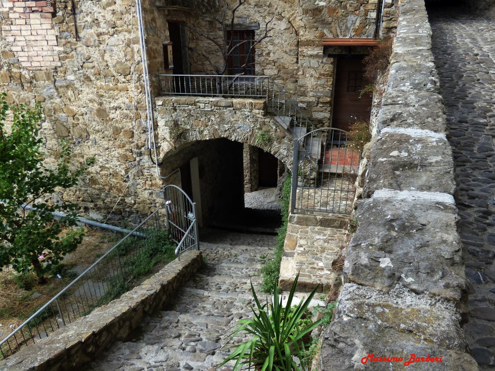Waterway in Apricale