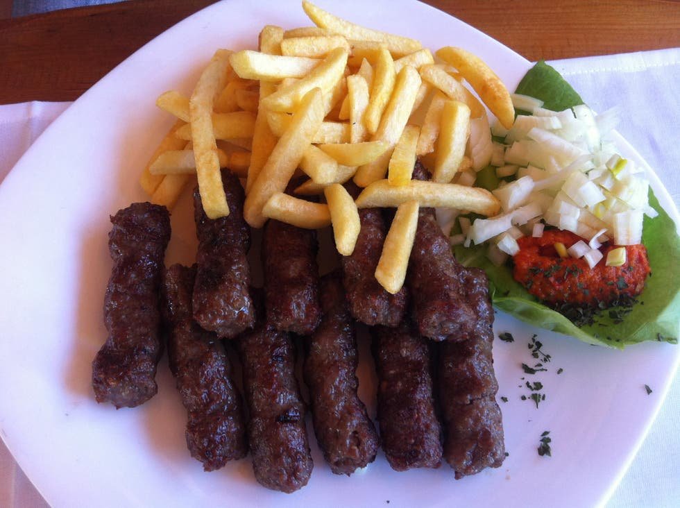 Meat in Neum