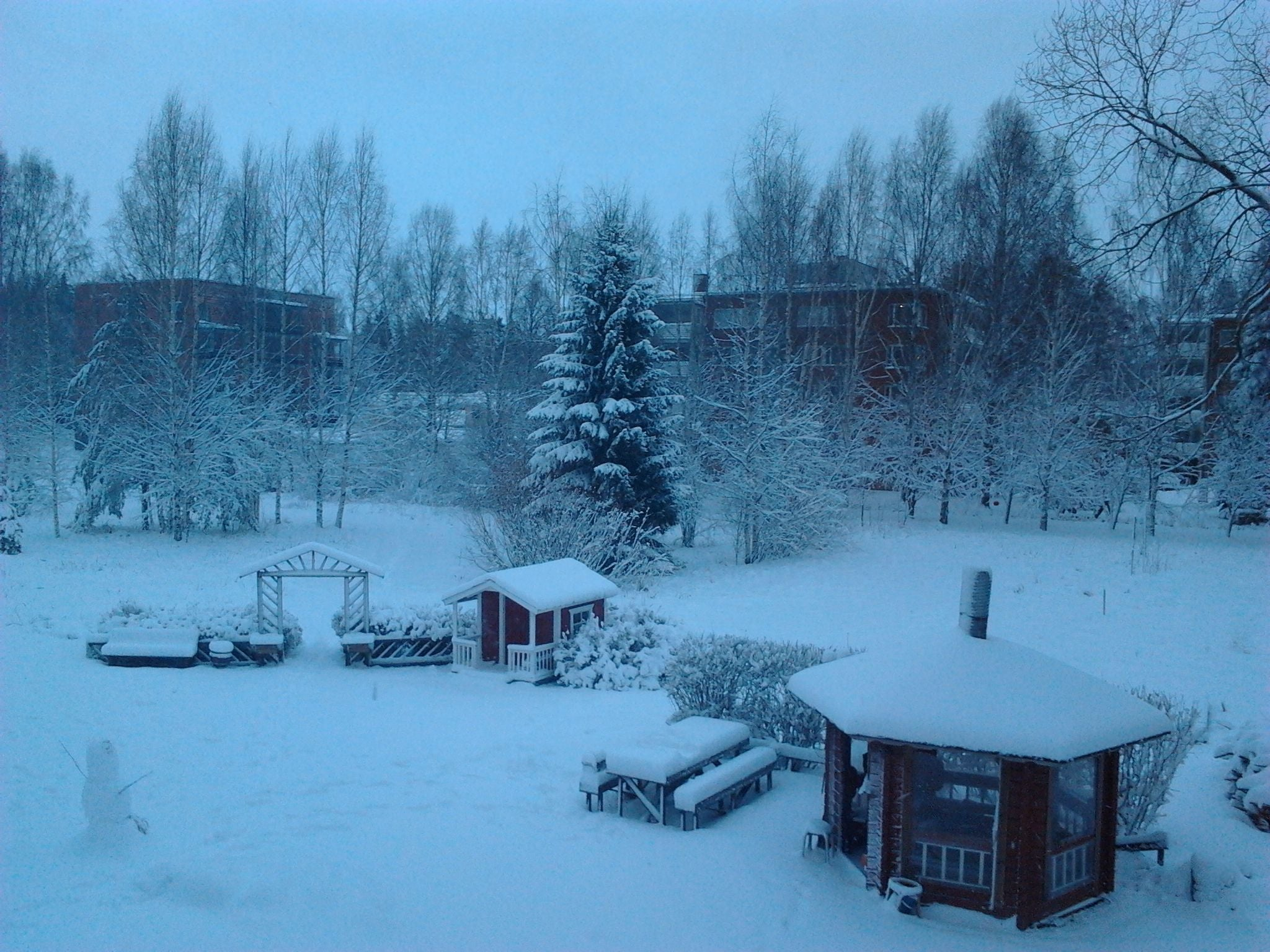 Winter in Seinäjoki