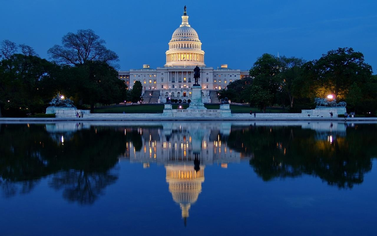 Anochecer en Washington