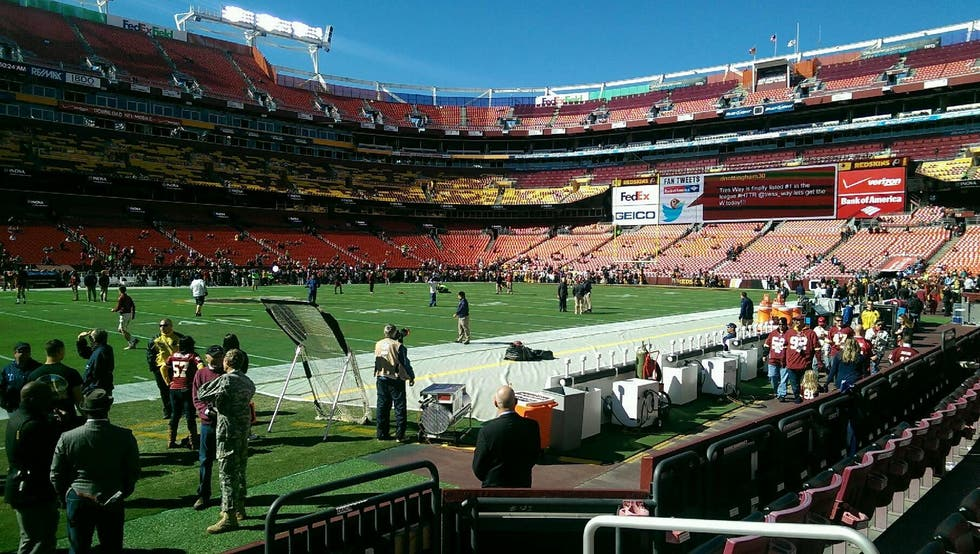 Estadio en FedExField