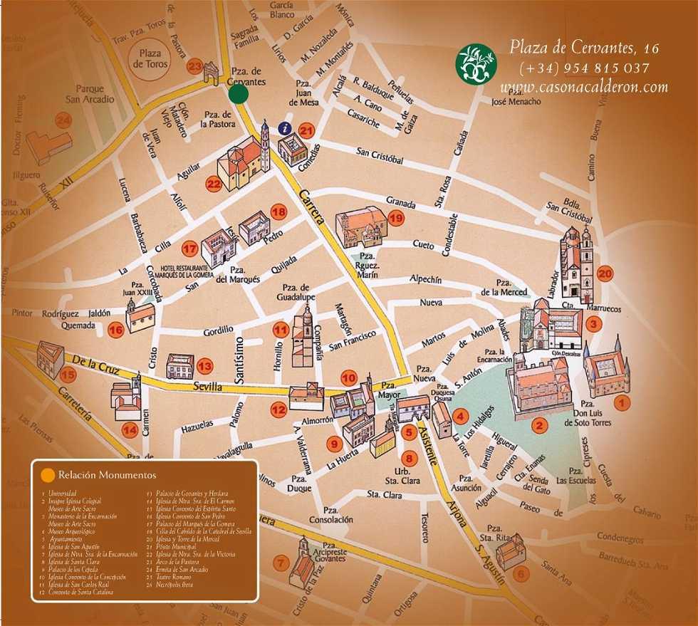 Diagrama en Hotel La Casona de Calderón