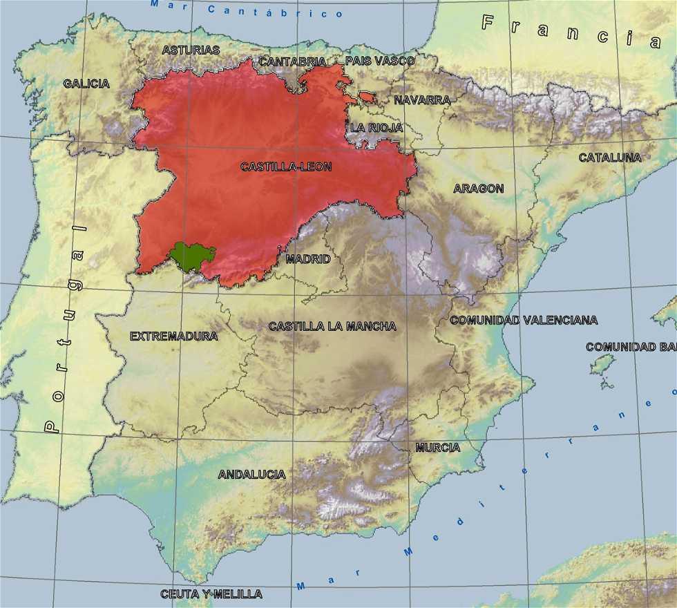 Reserva de la Biosfera en España Castilla-León