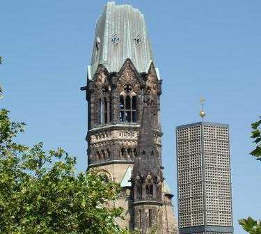 Palacio de justicia en Iglesia Memorial Kaiser Wilhelm