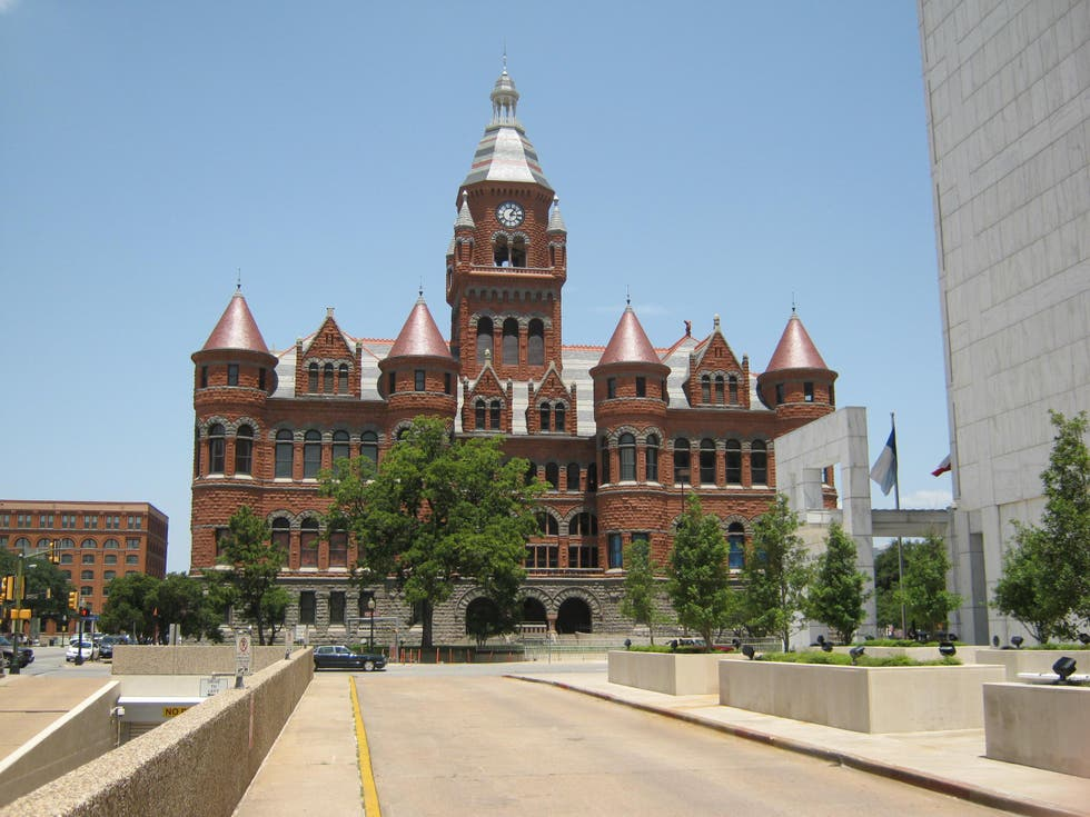 Fachada en Dallas County Courthouse