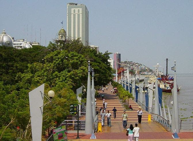 Sea in Guayaquil