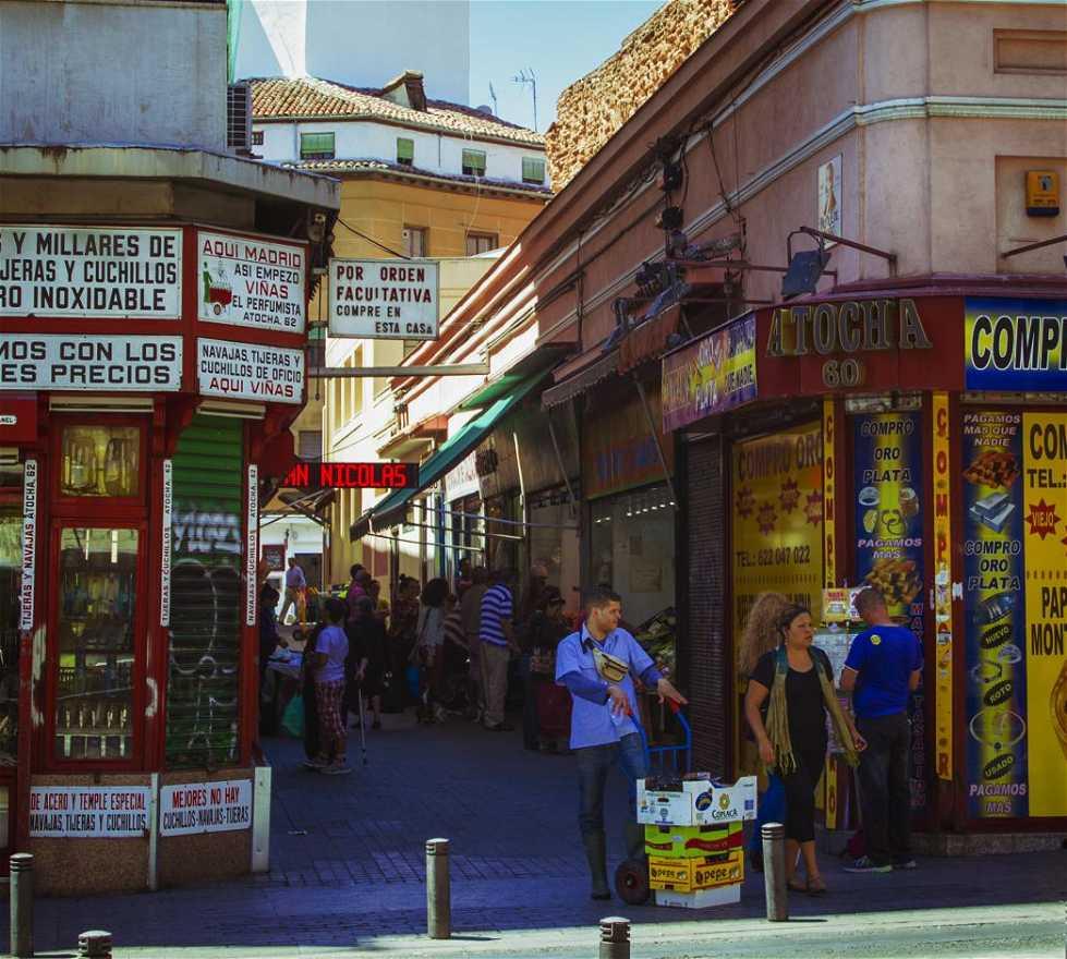 Calle en Calle Atocha