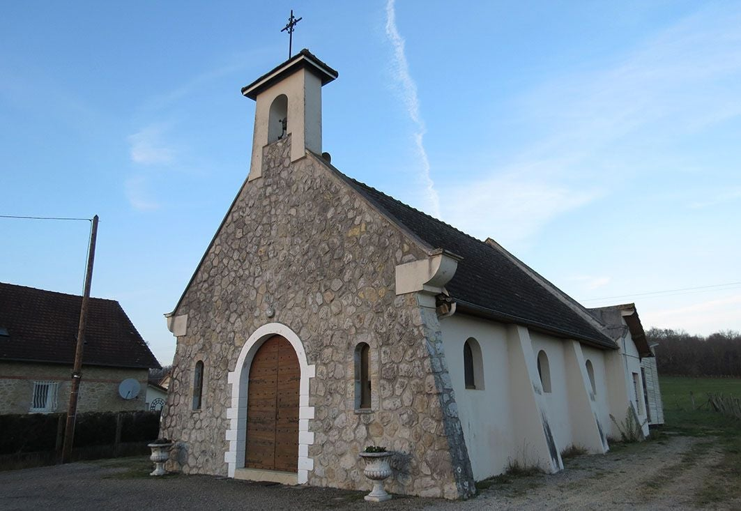 Church in Chapelle de la Rivière de Mansac