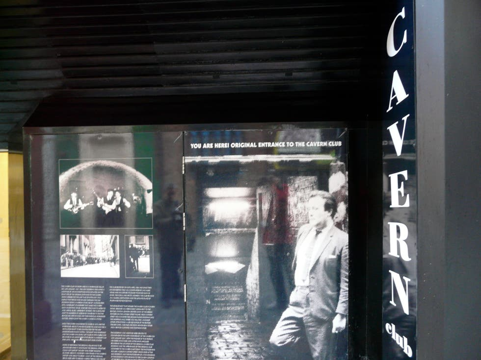 Señal en Club The Cavern