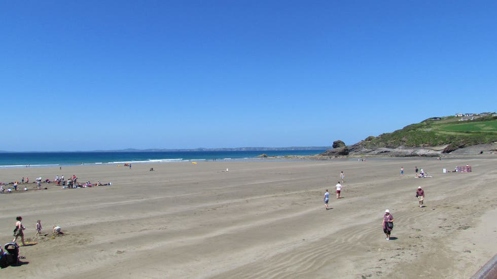 Beach in Broad Haven
