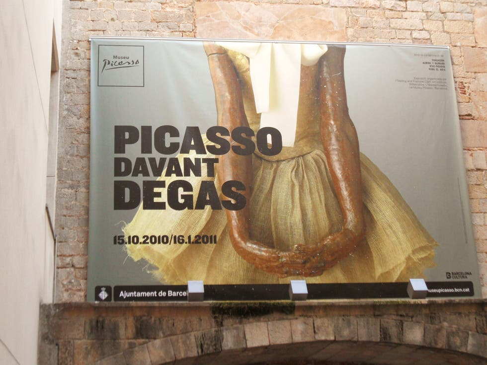 Póster en Museo Picasso