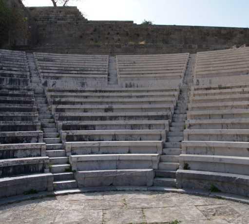 Pared en Acropolis de Rodas