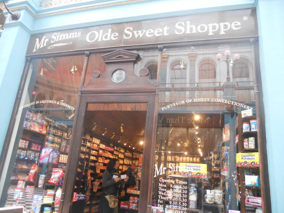 Compras en Mr Simms Olde Sweet Shoppe