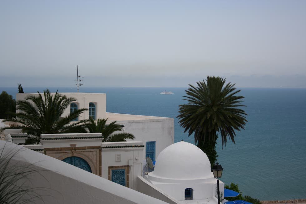 Sea in Sidi Bou Said