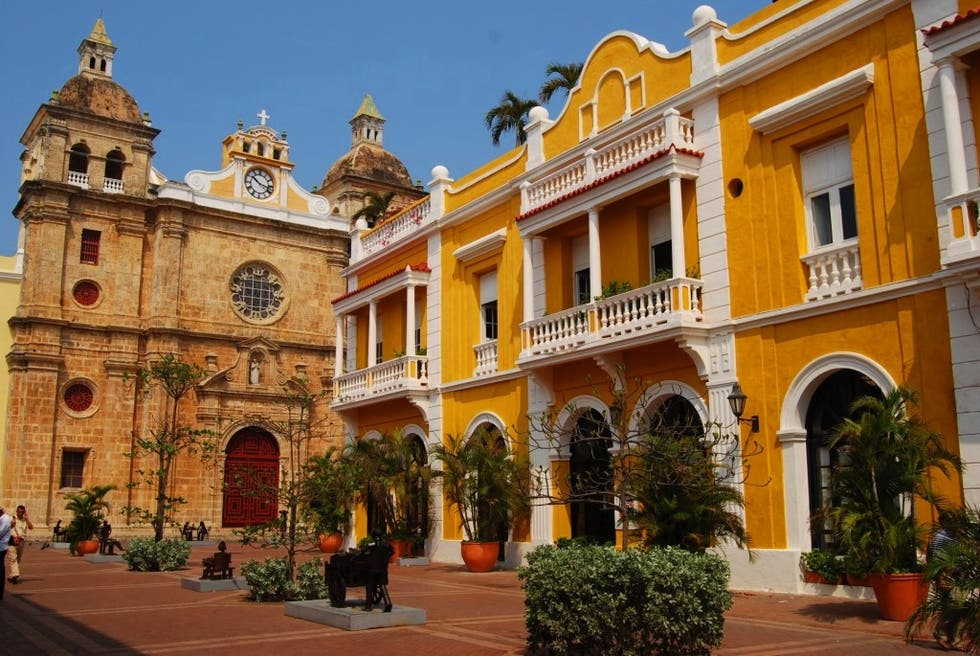 Palace in Cartagena