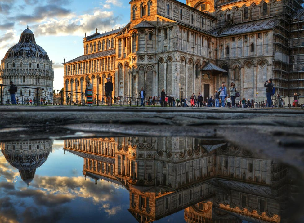 Reflection in Pisa