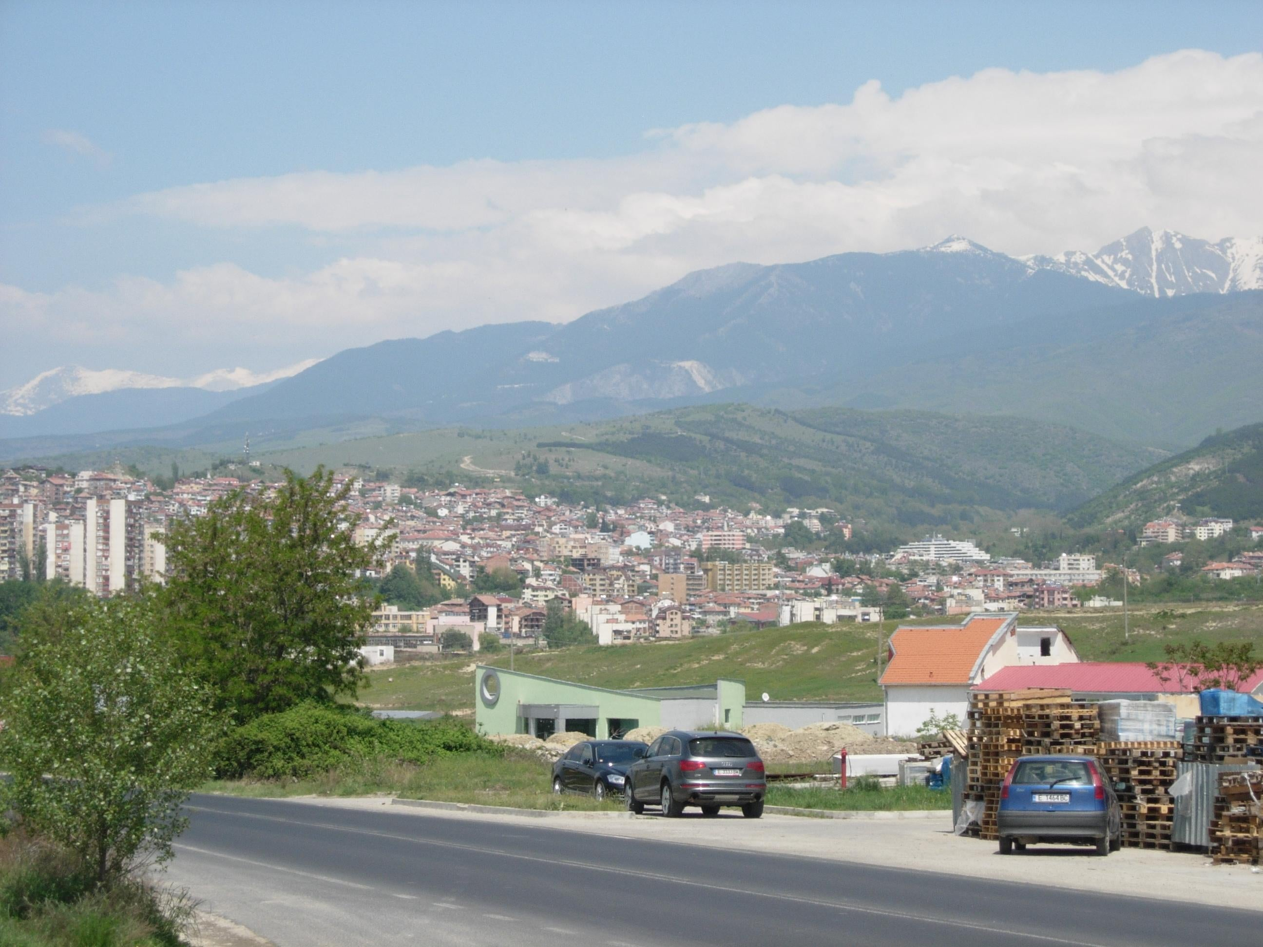 Mountain in Sandanski