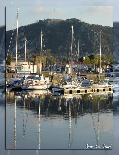 Marina in Cherbourgo