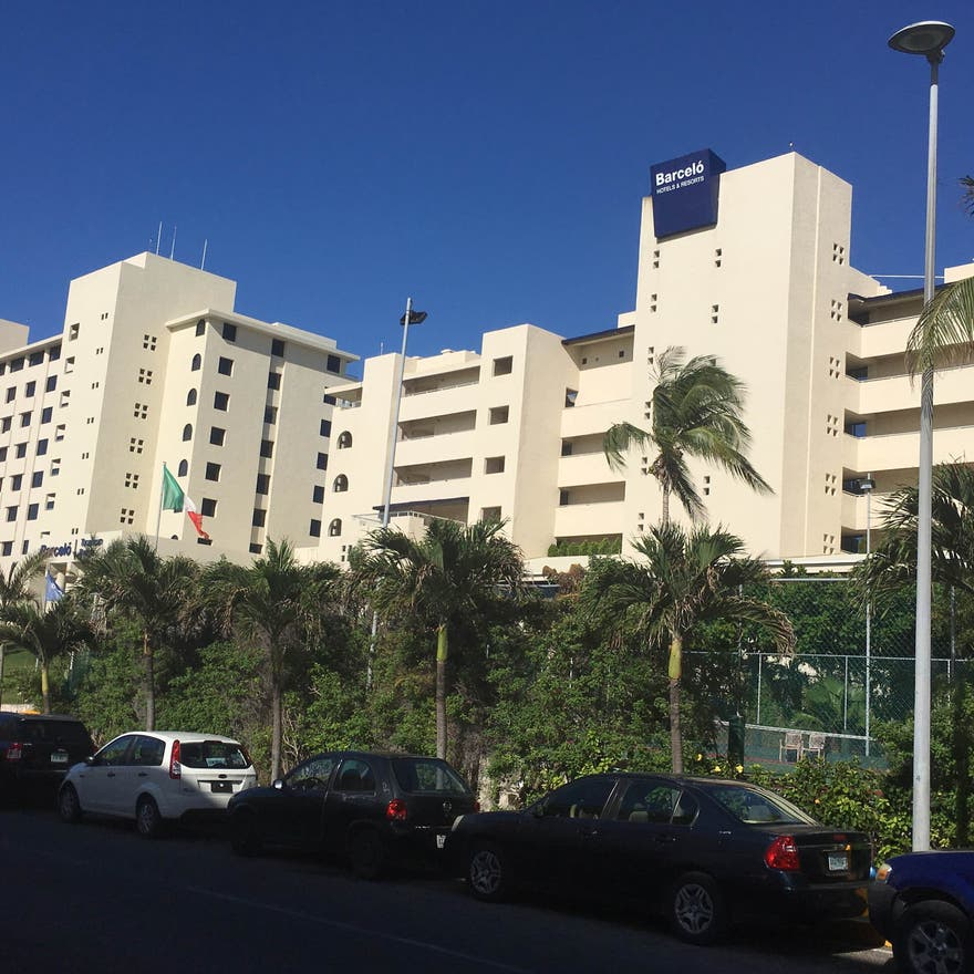 Area residencial en The Royal Sands All Inclusive