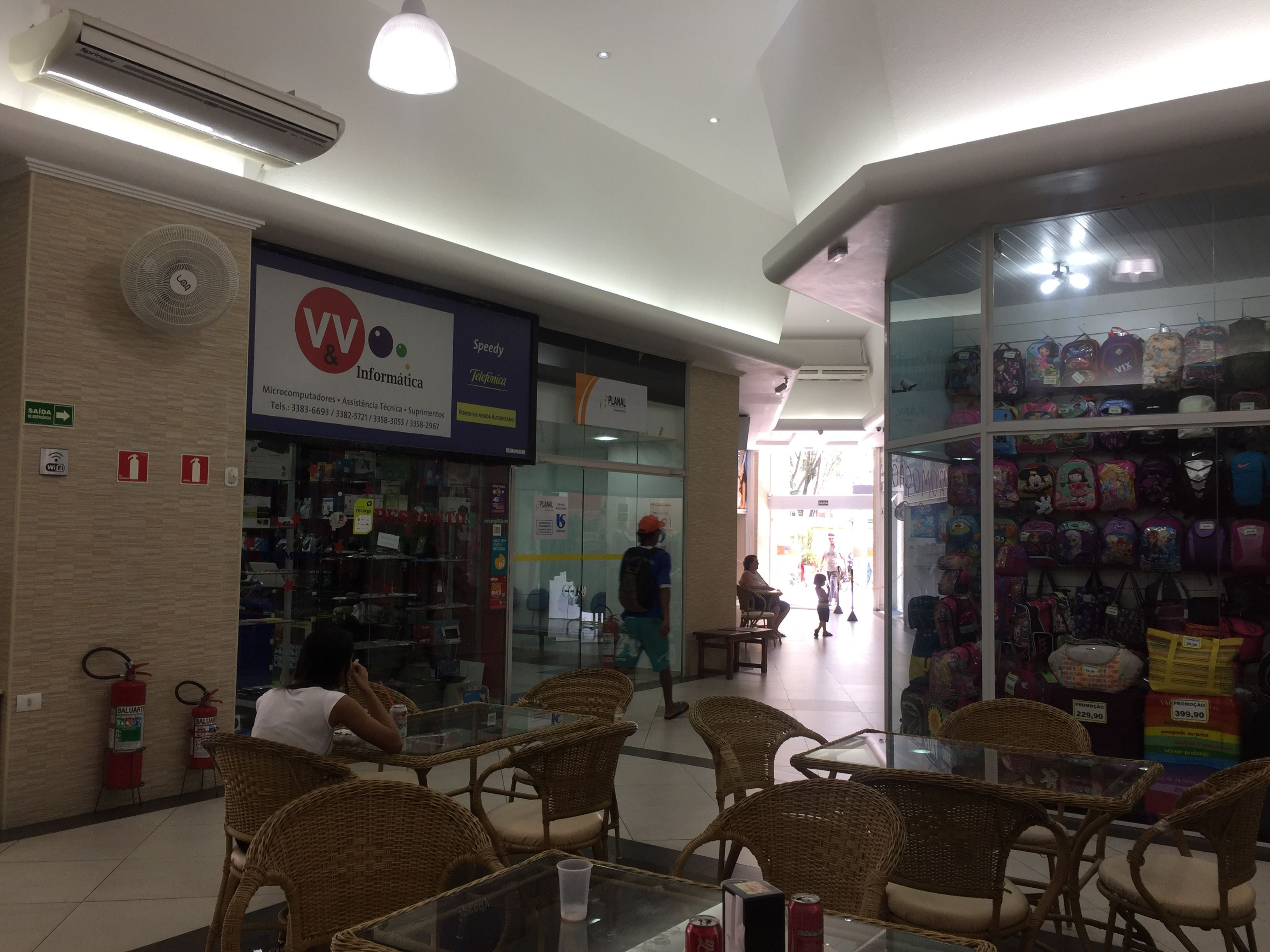 Food in Guarujá Center Shopping