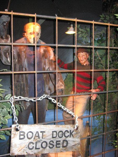 Ventana en Hollywood Wax Museum
