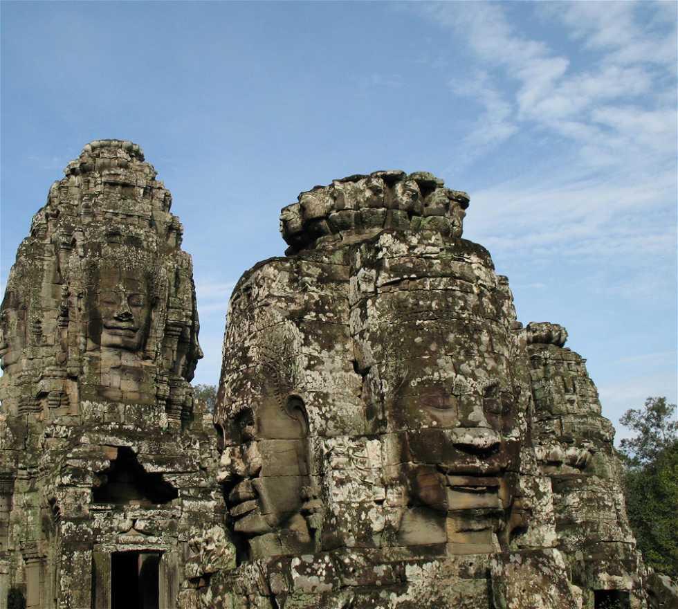 Historia antigua en Templo Bayon