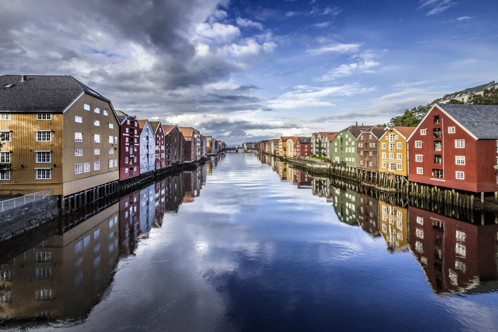 Reflection in Trondheim