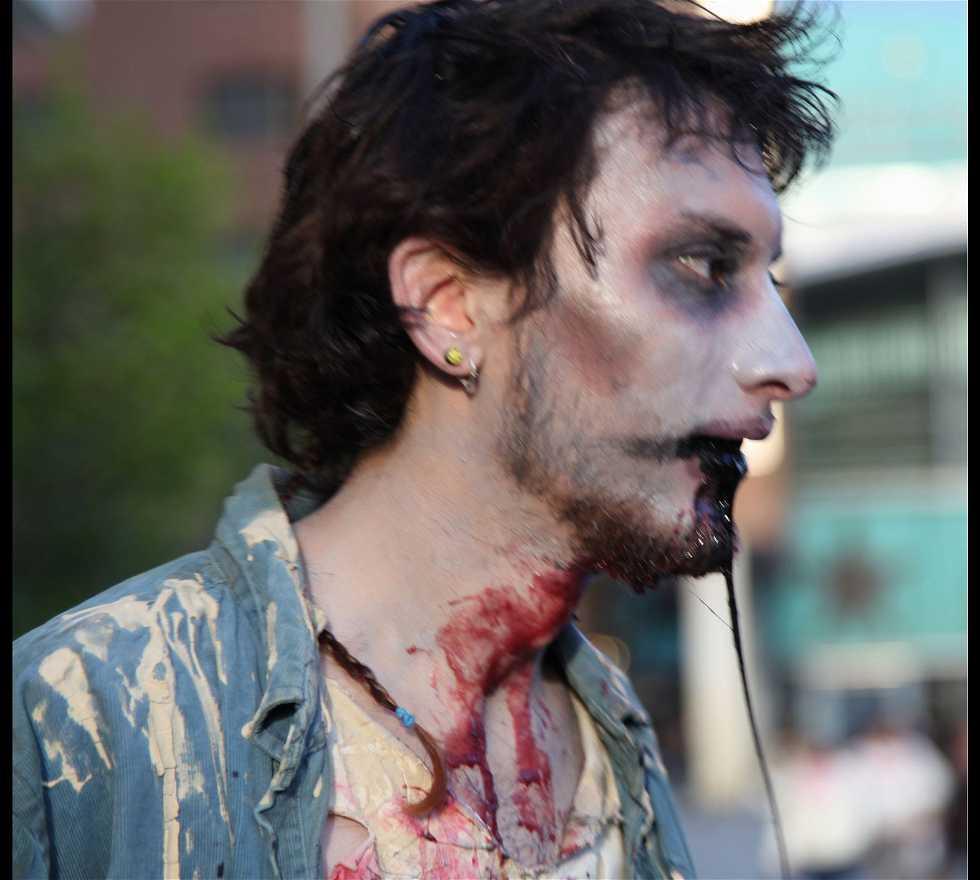 Barba en Marcha Zombie