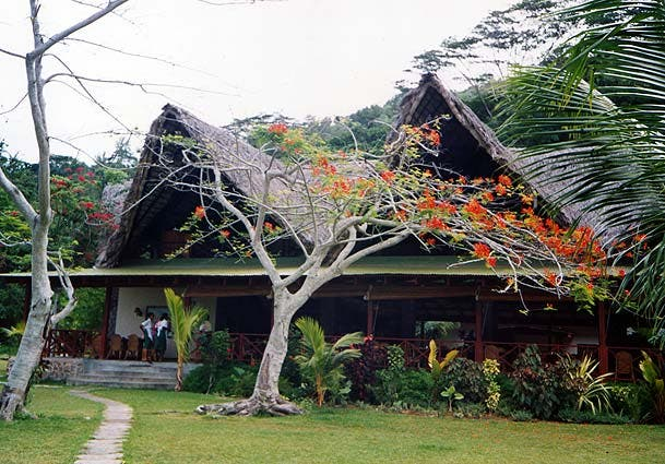House in Mahe Island