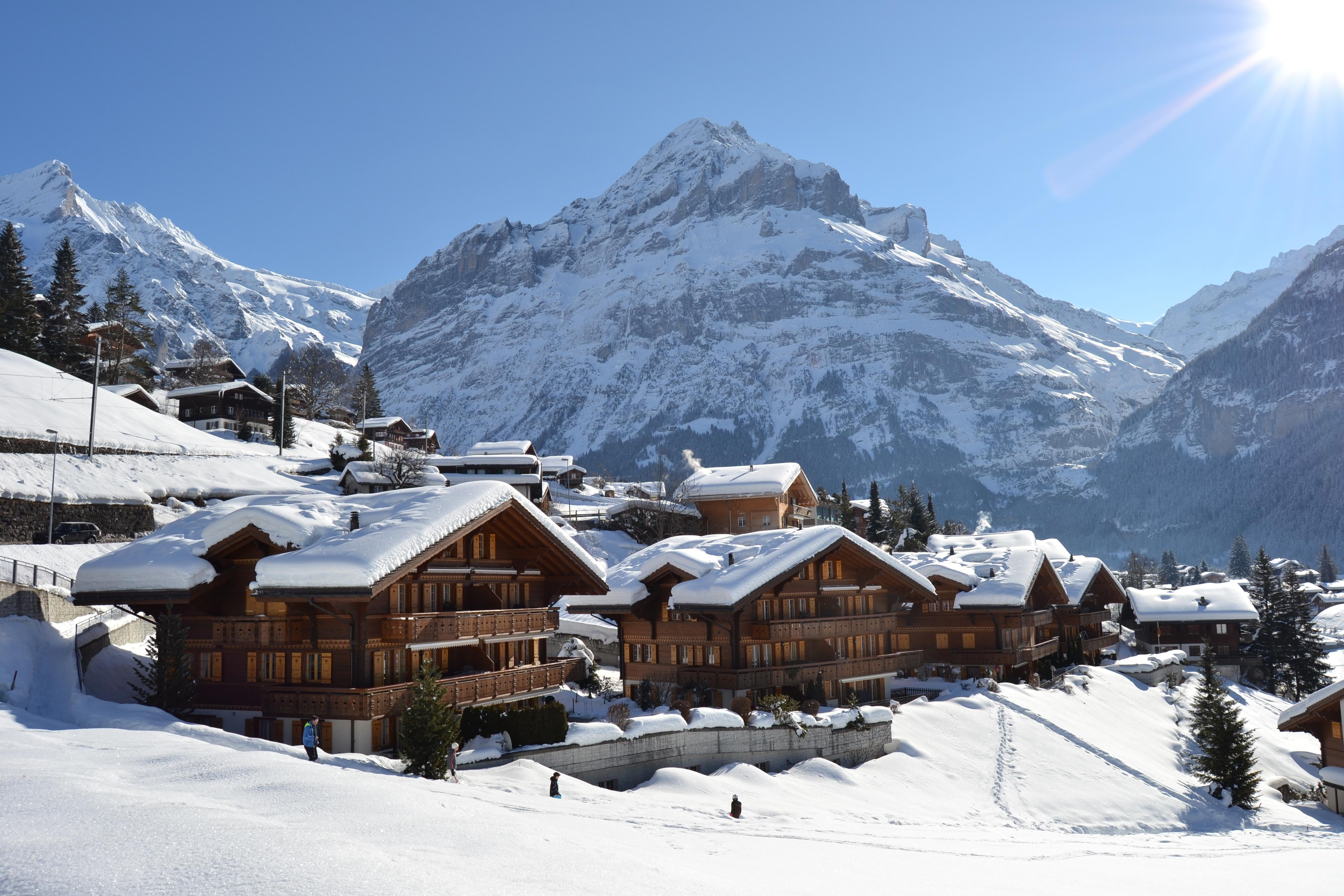 Snow in Grindelwald