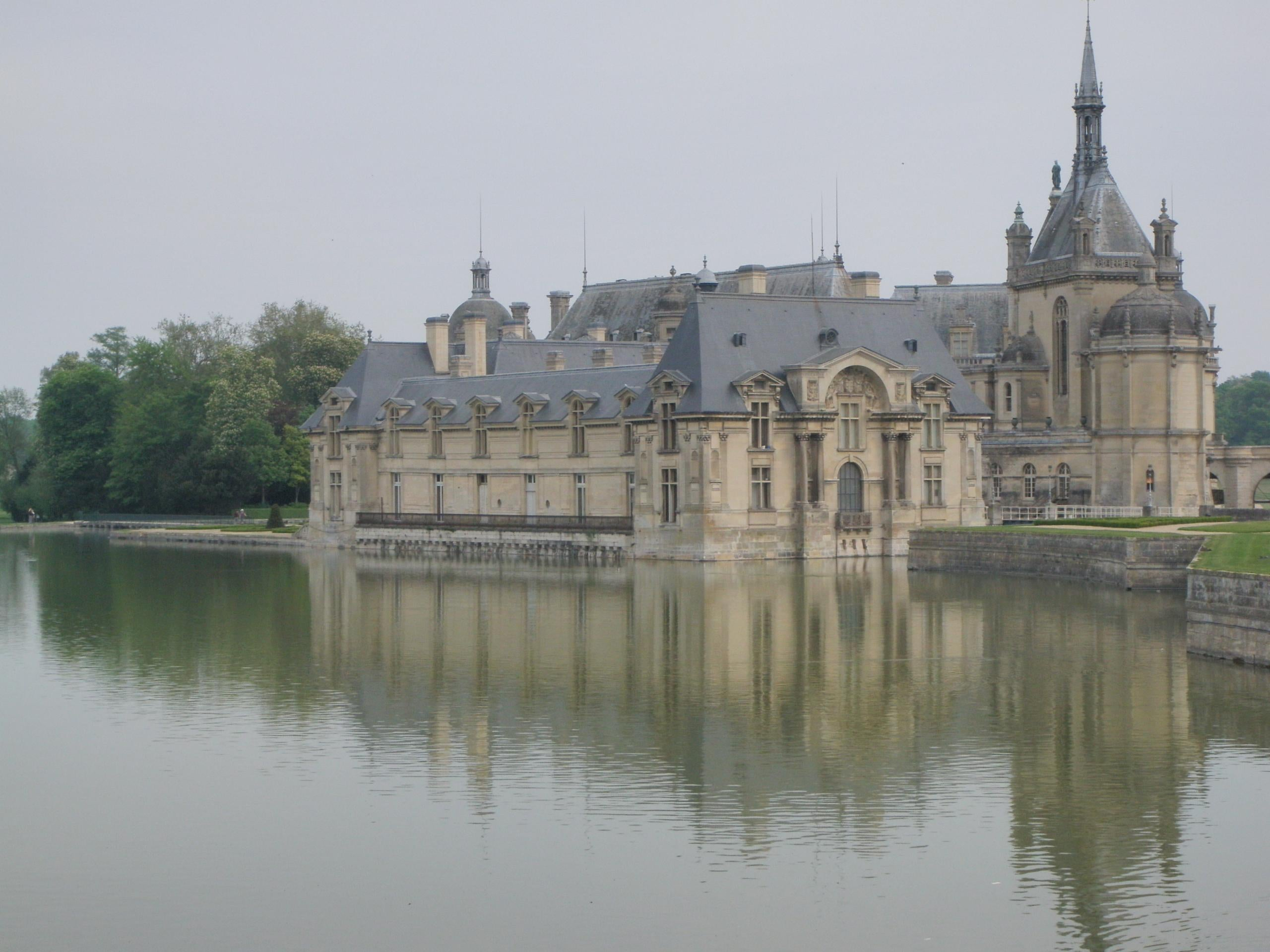 Reflejo en Castillo de Chantilly
