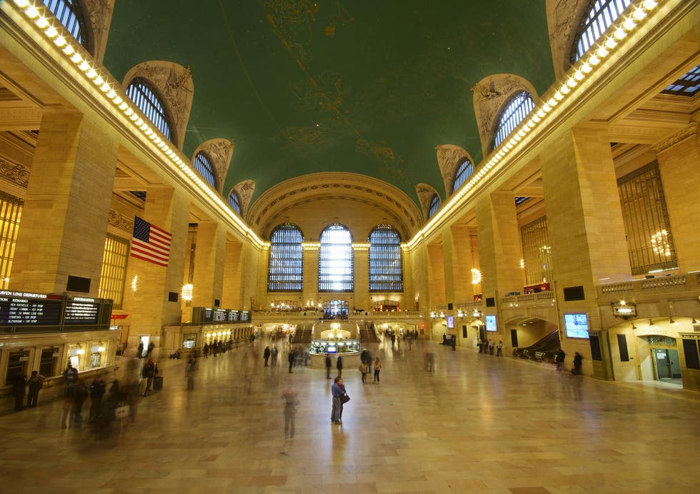 Reflejo en Grand Central Station