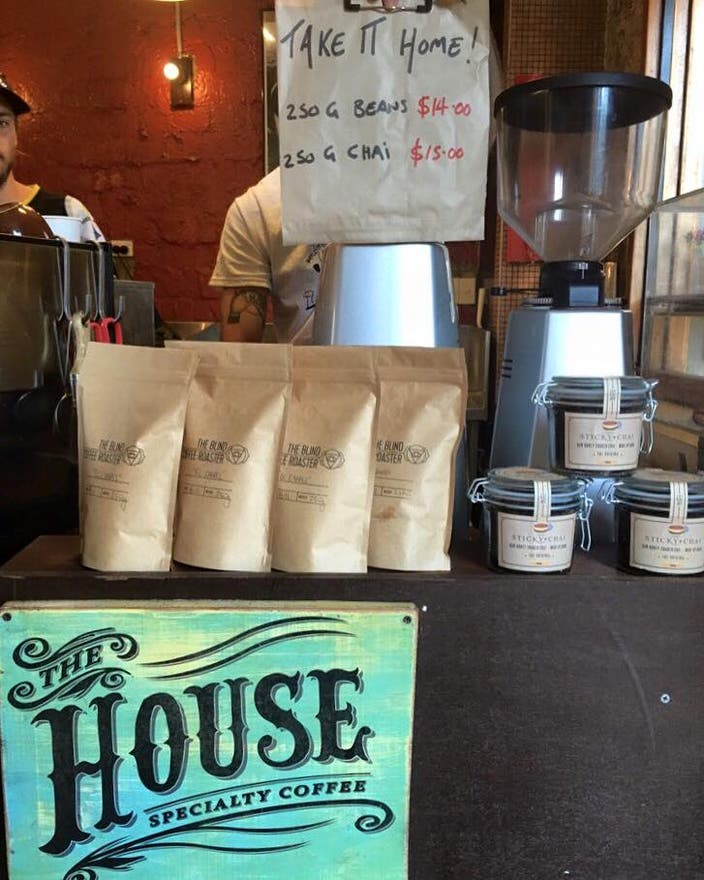 Bebida en The house speciality coffee