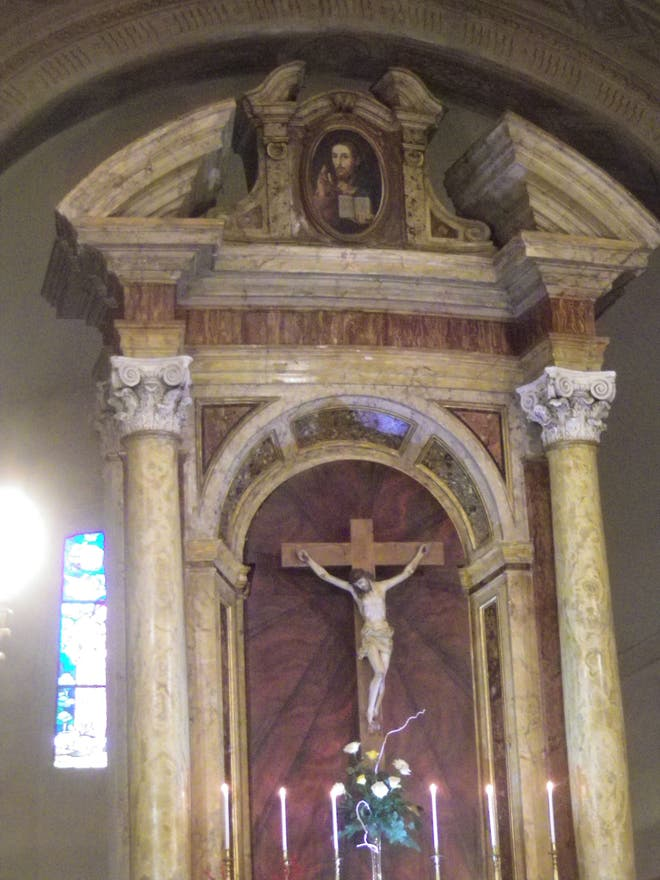 Mueble en Chiesa di San Francesco d'Assisi