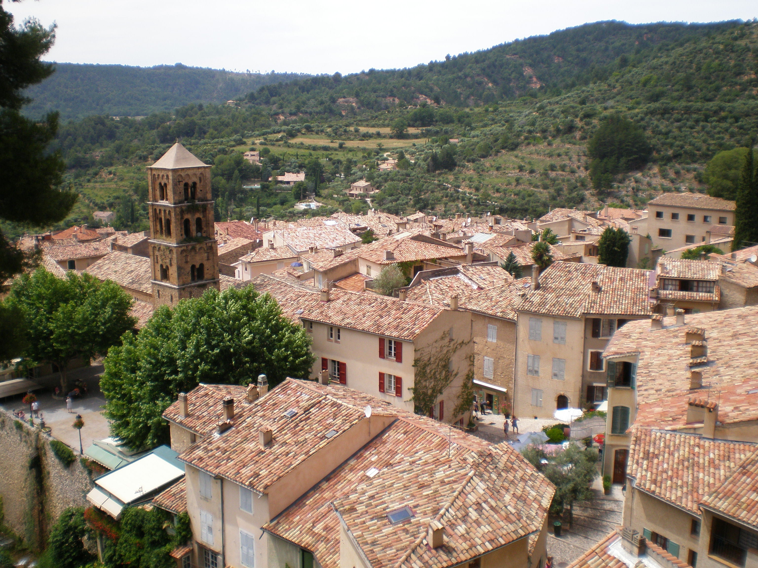 Village in Moustiers-Sainte-Marie