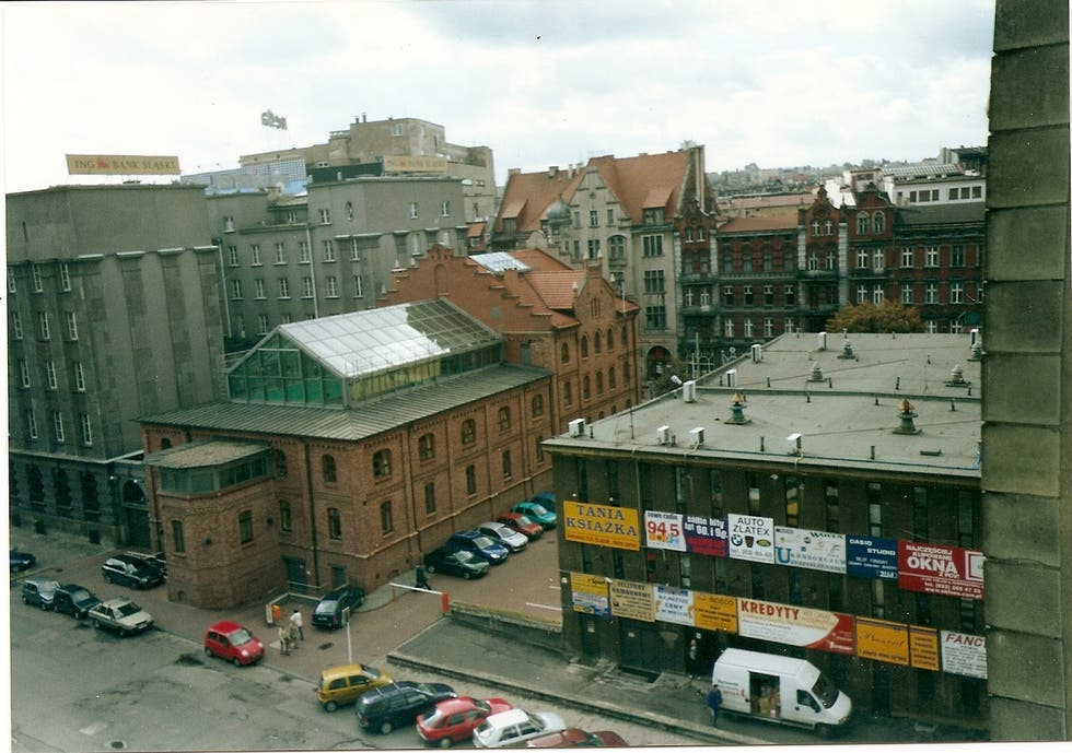 Downtown in Silesia Province