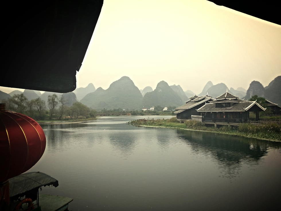 Reflejo en Guilin