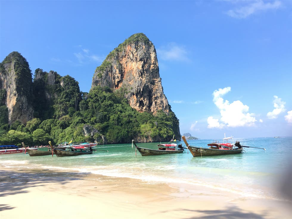 en Railay Beach Viewpoint