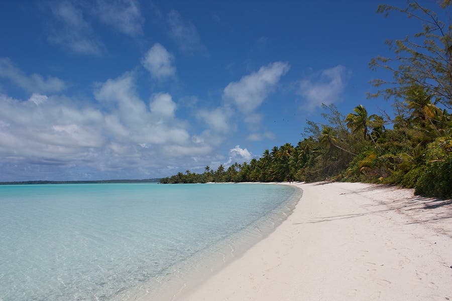 Blue in Cook Islands