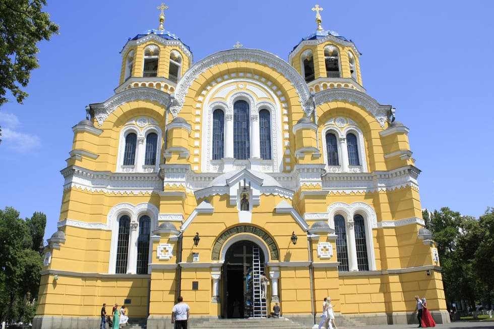 Templo en St Volodymyr's Cathedral