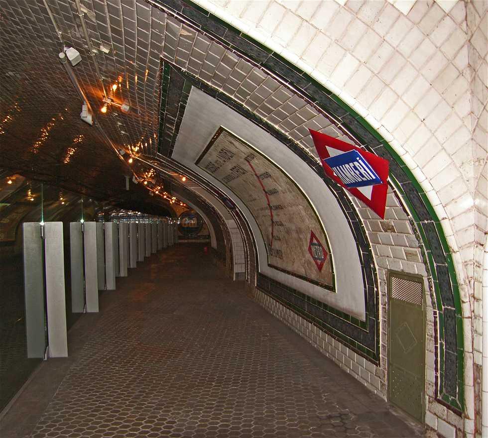 Paseo en Museo Andén Cero