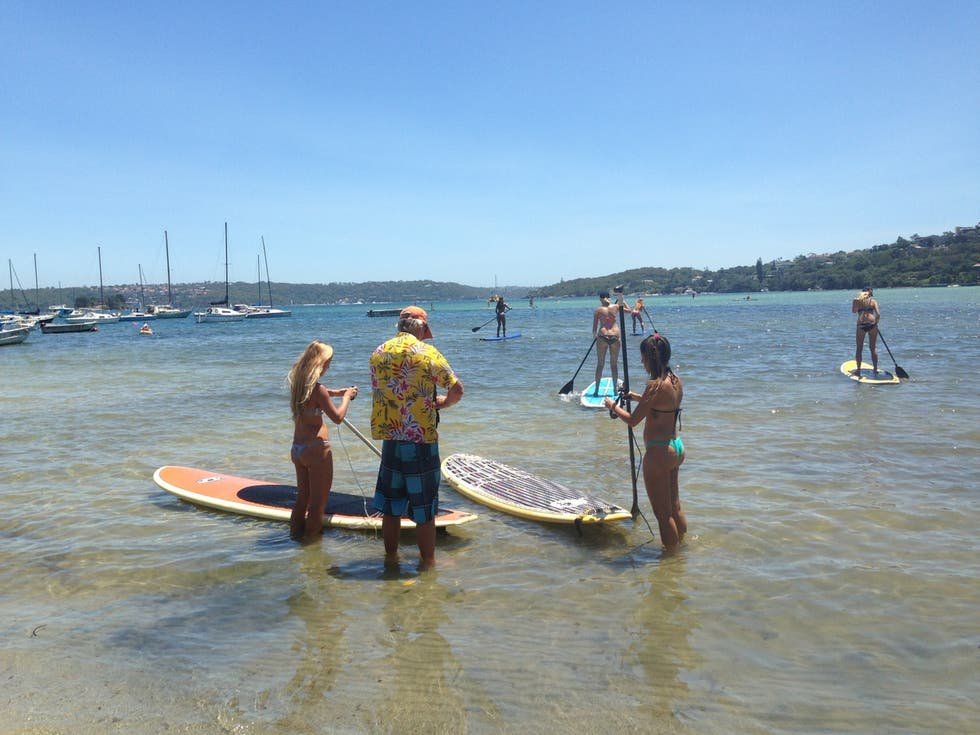 Mar en Stand Up Paddle