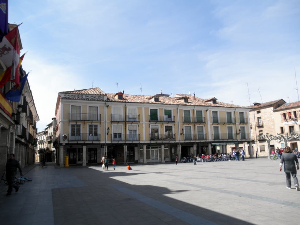 Paseo en Plaza Mayor