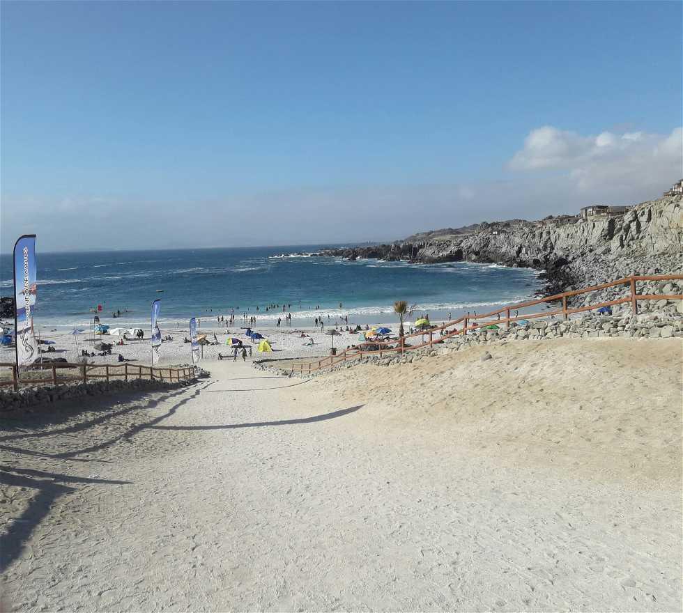 Playa en Playa la Virgen