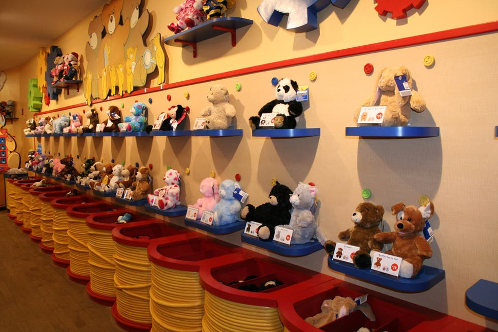 Lego en Build a Bear Workshop
