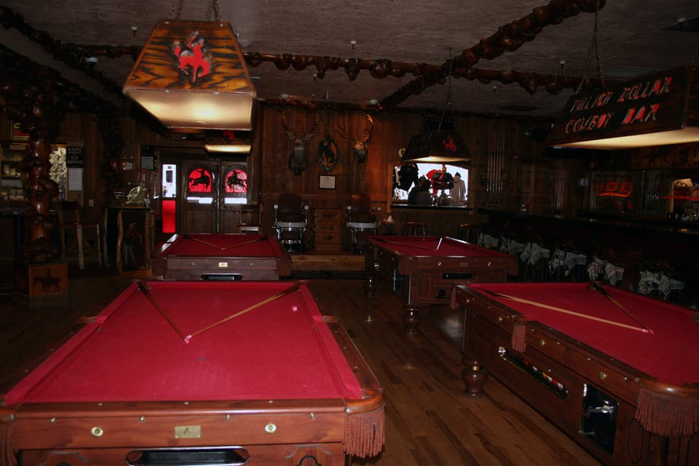 Sala en Million Dollar Cowboy bar