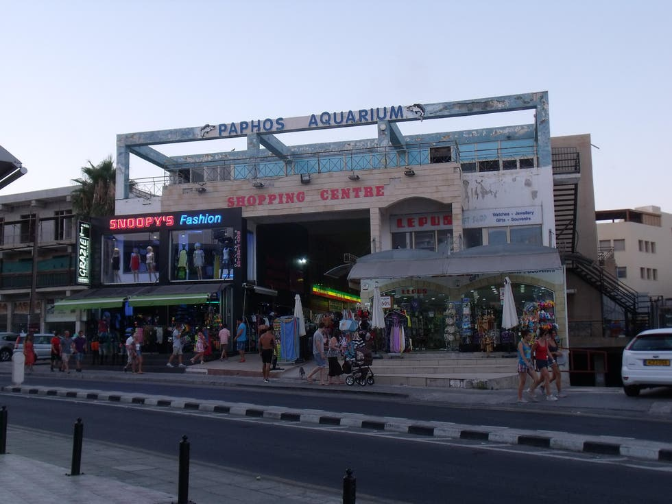 Transporte en Aquarium Shopping Center de Paphos
