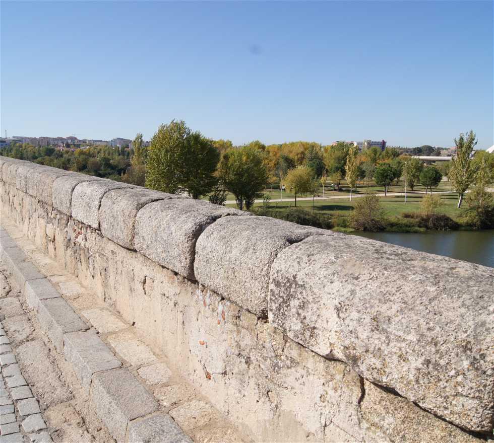 Suelo en Puente romano