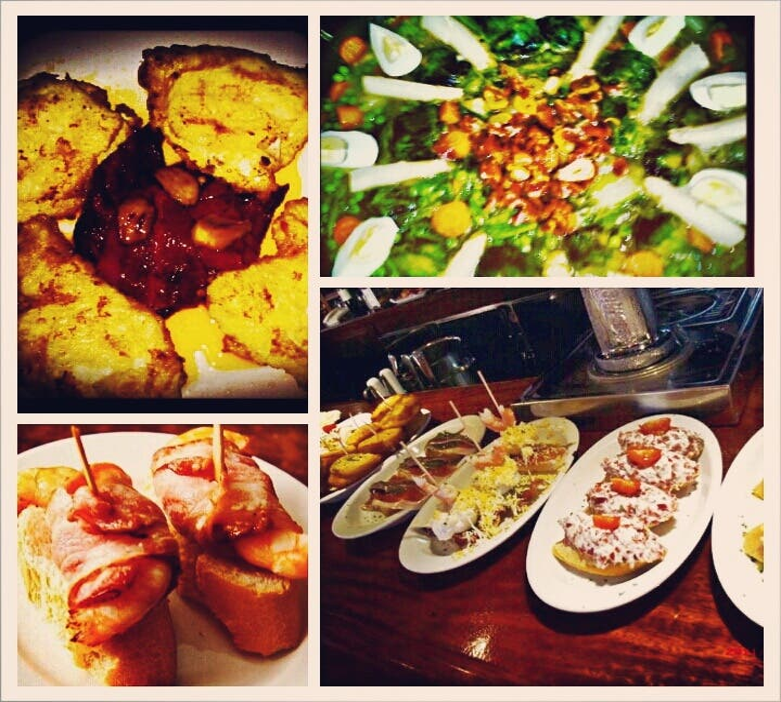 Comida de malasia en Otamendi Taberna